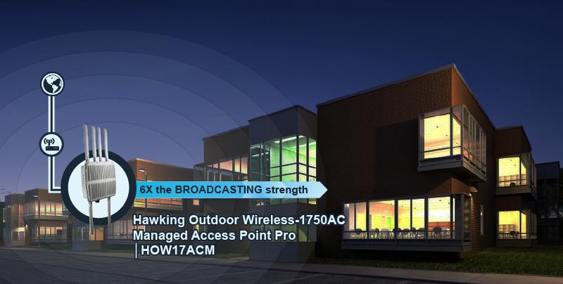 HawkingTech | Multiple Buildings Wi-Fi Solutions